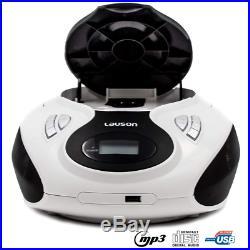 Lauson Boombox Stereo Portable Radio CD Player with USB & MP3 Headphone Ja