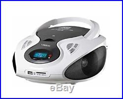 Lauson CP430 Portable CD Player USB Radio AM/FM Mp3 USB SD-Card Boombox Music Sy