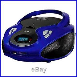 Lauson CP436 Portable CD Player USB Radio AM/FM Mp3 USB SD-Card Boombox Music