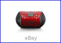 Lenco Portable Radio CD Player Red