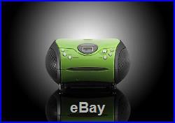 Lenco SCD-24 Portable CD Player with FM Tuner Radio Green