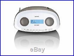 Lenco SCD-69 Portable Boombox with DAB+, FM Radio, USB playback, CD / MP3 Player