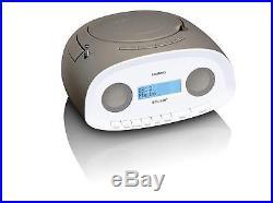 Lenco SCD 70 Portable DAB +/FM Radio With Top Loading CD Player, MP3 Player