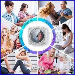 Lettore CD con Altoparlanti Portatile HiFi Bluetooth Integrati, Boombox Audio pe