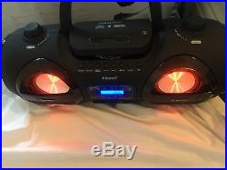 Manta MM 274 Portable Stereo CD Player, MP3 Playback, Bluetooth Pairing RRP £100