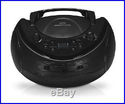 Memorex Portable Boombox Sport MP3851 CD Player with AM/FM Radio and Digital Dis