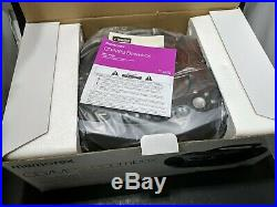 Memorex Portable CD Cassette AM/FM Radio Boombox MP4907BK New