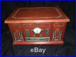 Memorex Stereo CD AM FM Tape Record Player crossely retro table top MTT3200