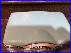 Memorex Two Tone Turquoise AM/FM Stereo Radio C/D Player 1950's Car Dash Look