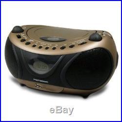 Metronic 477106 Portable Stereo CD Player, MP3