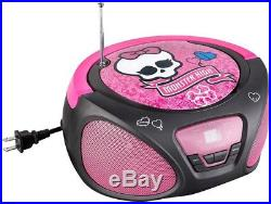 Monster High Boombox Portable Stereo (CD Player)