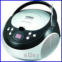 NAXA Electronics NPB-251BK Portable CD Player with AM/FM Stereo Radio NEW