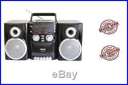 NAXA Electronics NPB-426 Portable CD Player with AM/FM Stereo Radio, Cassette