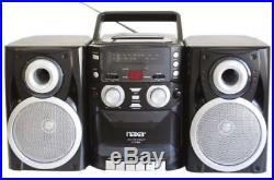 NAXA Electronics NPB426 Portable CD Player with AM/FM Stereo Radio, Cassette