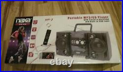 NAXA Jambox CD MP3 USB Player Boombox Portable