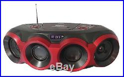 NAXA MP3 DISC CD PLAYER BOOMBOX with BLUETOOTH AM/FM RADIO USB AUX IN PORTABLE
