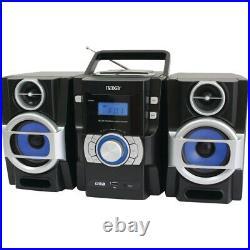 NAXA NAXA NPB429 Portable CD/MP3 Player with PLL FM Radio, Detachable Speaker