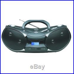 NAXA NPB-256 Portable MP3/CD Player with Text Display, AM/FM Stereo Radio