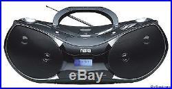 NAXA PORTABLE CD MP3 PLAYER AM/FM RADIO USB INPUT SD/MMC CARD SLOT NPB-256 NEW