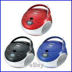 NAXA Portable CD/MP3 Player with AM/FM Radio