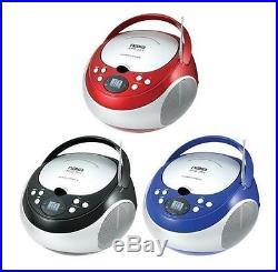 NAXA Portable CD Player with AM/FM Radio