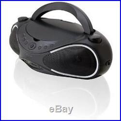 NEW GPX BD702B Portable Karaoke Speaker System CD/DVD/USB Player 7 Video Screen