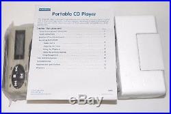 NEW Lakeshore Portable CD Player with Built In Speaker JJ665