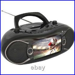 NEW NAXA NDL287 NDL-287 TV-DVD Combo 7-in TV/DVD 7in Bluetooth DVD Boombox TV