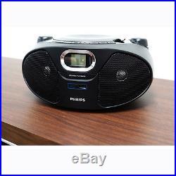 NEW Philips AZ-385 Portable USB Direct, MP3 CD Music Play Audio Radio Player