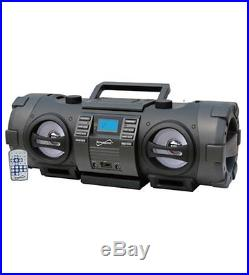 NEW Supersonic Inc SC-2711 Radio/CD Player BoomBox 1 x Disc 16 W Integrated