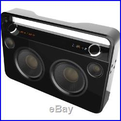 NEW Supersonic SC-1000BT Wireless Bluetooth Speaker System Boombox Black