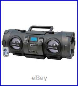 NEW Supersonic SC-2711 Radio/CD Player BoomBox 1x Disc 16 W Integrated Stereo