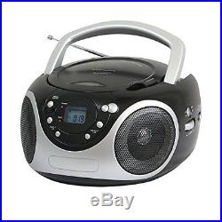 NEW Supersonic SC507MP3 Portable Mp3/CD Player With AM/FM Radio