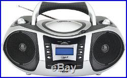 Naxa NPB250 Portable Cd/MP3 Player With Am/Fm/Usb/Sd