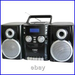 Naxa NPB426 Portable CD Player with AM/FM Radio, Cassette Detachabl