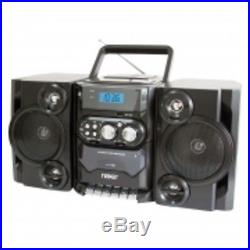 Naxa NPB428 Portable MP3/CD/USB Player with Stereo AM/FM Radio Cassette Record