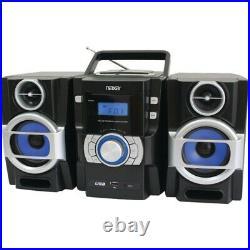 Naxa NPB429 Portable CD/MP3 Player with PLL FM Radio, Detachable Speakers &am