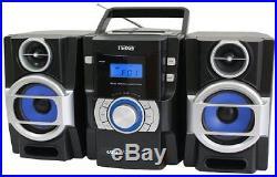 Naxa Npb429 Portable Cd/mp3 Player With Pll Fm Radio, Detachable Speakers &