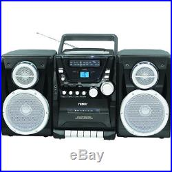 Naxa Portable CD Player with AM/FM Stereo Radio Cassette Player/Recorder & T