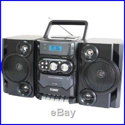 Naxa Portable Cd And Mp3 Player With Am And Fm Radio, Detachable Speakers&#4