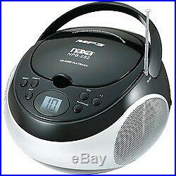 Naxa Portable Cd And Mp3 Player With Am And Fm Stereo (black) (pack of 1 Ea)