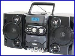 Naxa Portable MP3 CD Player AM FM Stereo Radio Cassette Player Recorder Tape