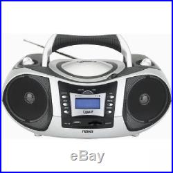 Naxa Portable MP3/CD Player, with AM/FM Radio And USB/SD/MMC Slot 1 x Disc Int