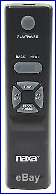 Naxa Portable Mp3 / CD Player Stereo Radio Cassette Recorder Remote Usb Npb-428