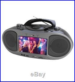 New Naxa NDL-256 NDL256 Radio/DVD Player Boombox