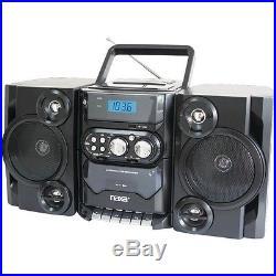 New Naxa Portable Cd & Mp3 Player w Am And Fm Radio Remote & Usb Inputs