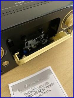 New Open Box Studebaker SB2135 Portable CD Boombox With AM/FM Radio & Cassette