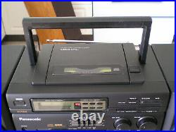 PANASONIC Boombox Portable AM/FM Radio & CD player Model RX-DT630, very clean