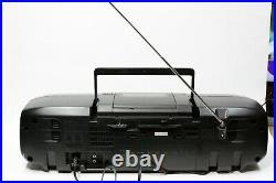 PANASONIC RX-DS20 90's PORTABLE BOOMBOX VINTAGE RADIO, CD, TAPE PLAYER