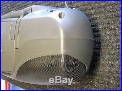 PANASONIC RX-DT75 PORTABLE TUNER/ CD PLAYER/ DUAL CASSETTE